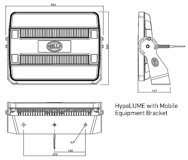 Hella Hypalume U00ae  U2013 High Output Led Flood Light For Heavy Duty Applications