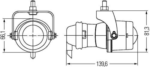 hella hl96621 micro de projector fog lamp  vertical