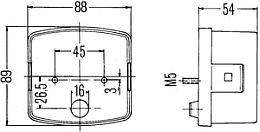 Pipe Light Wiring Diagram moreover 1994 Dodge Dakota Wiper Linkage Diagram also Hella 2776 Series Rear  bination L  Stop Tail Turn together with Wiring Diagram For Glow Plug Relay furthermore Hella 0458 Series Leday Flex Daytime Running Light Kit. on wiring harness land rover series