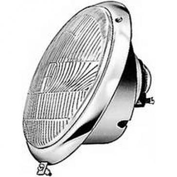 Hella Headlamp Volkswagen Beetle 1947-2003, Porsche 356A, B, C 1955-65, R2 Bulb, ECE
