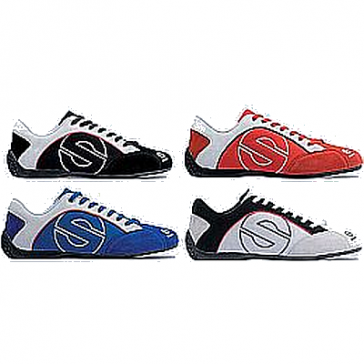 Sparco ESSE Suede/Canvas Shoe, Pair