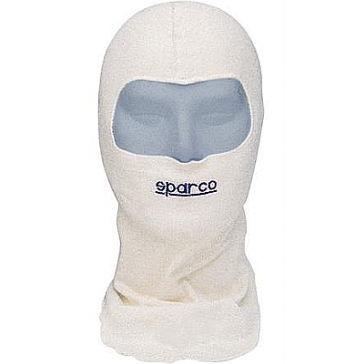 SPARCO SOFT TOUCH NOMEX Balaclava, Hood, Head Sock, Open