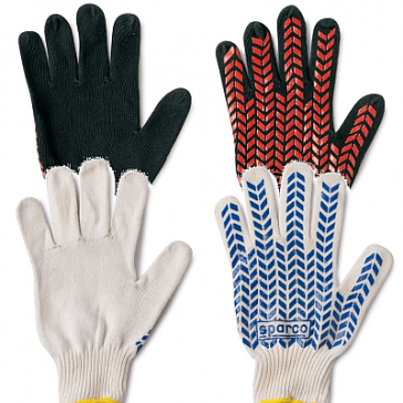 SP00207 Crew Gloves PIT Cotton, One size fits all.