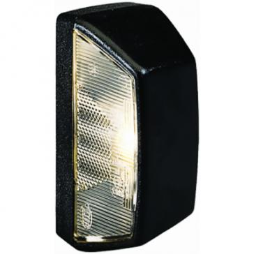 Hella 3389 Black License Plate Lamp