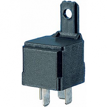 Hella HL87434 Mini Relay 12V 40A SPST with Resistor and Bracket