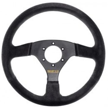 SP015R323PSNR Steering Wheel, Competition, 330mm Diameter, 39mm Dish in Black Suede.