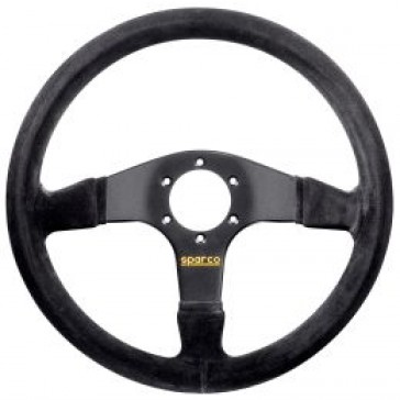 SP015R375PSN Steering Wheel, Competition, 350mm Diameter, 36mm Dish in Black Suede.