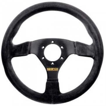 SP015R383PSN Steering Wheel, Competition, 330mm Diameter, 39mm Dish in Black Suede.