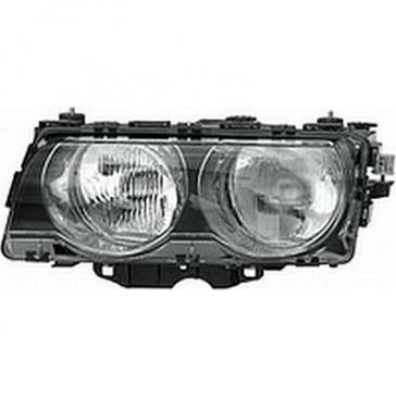 Hella Headlamp BMW 7-Series E38 99-01, 740i, 740iL and 750iL