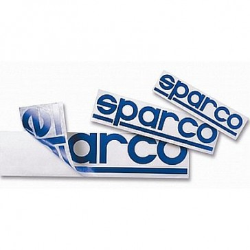 SP9015A SPARCO Sticker Set 30 15cm Blue