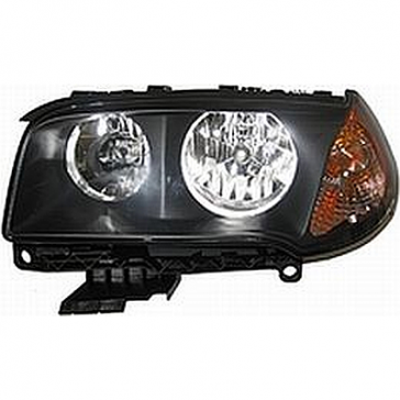 Hella Headlamp, BMW X3 E83/E84 03-10, DOT/SAE
