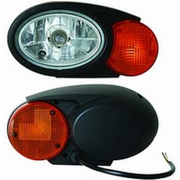 Hella Oval 120 Snow Plow Lamp, DOT