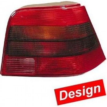 HL17902 Tail Lamp VW Golf IV, Black/Red.