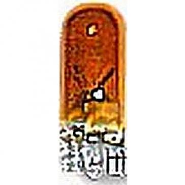 CP194NA T-3-1/4 W2.1x9.5d 12V 3W, Amber Incandescent 194NA Bulb