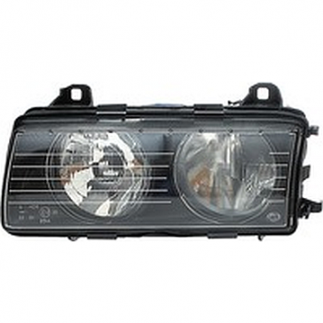 Hella Headlamp BMW 3-Series E36 FF-H7 95-98, 1AH 007 045-031/041, ECE