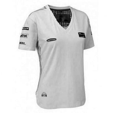 WCRE11193 Official WRC MINI Ladies White T-Shirt