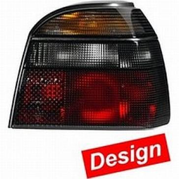 Tail Lamp VW Golf III, Black, Set 9EL 006 220-851