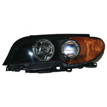 Hella Bi-Xenon Headlamp Assembly - BMW 3-Series E46/2 2003-9/06, with Turn Signal HL20407/8