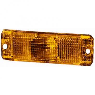 Hella Lens, Golf I, Front Indicator Lamp, Amber, Pair 9EL 116 771-031