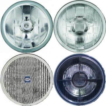 Hella Rallye 500 Lens/Reflector Assemblies