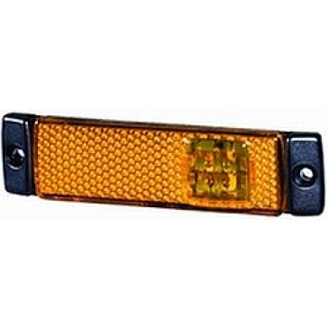 Hella 8645 Series LED Amber Side Marker Lamp