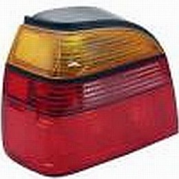 Tail Lamp VW Golf III Amber/Red/Red, Stock on Standard Golf