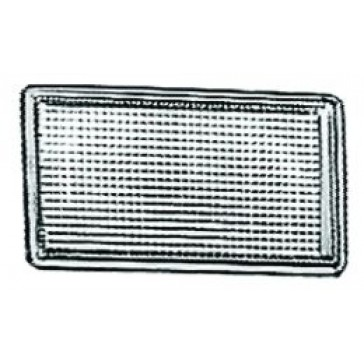 Bracket Cover, Jetta III, Golf III, short, silver-grey.