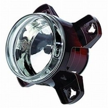 HL68152 Hella Headlamp 90mm H7 Main-beam, with city light ECE, 1KO 008 191-001