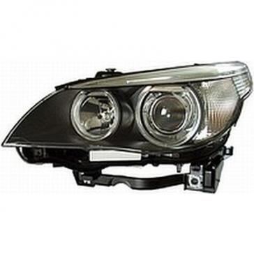 Hella Headlamp BI-Xenon BMW E60 04> w/o Cornering Lamp, HL69700/800