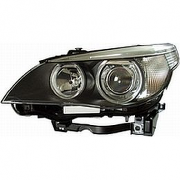 Hella Headlamp BI-Xenon BMW 5-Series E60 2003>07 with Dynamic Cornering Lamp, Clear Turn Signal. No Ballast