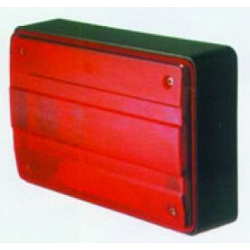 Hella 2400 Series Rear Lamp, Designline 2400 Series, 12V