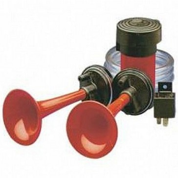 HL85105 Air Horn Kit, 2 Trumpet