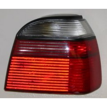 Tail Lamp, Golf III, DOT White/ White/ Red, Left Side Only