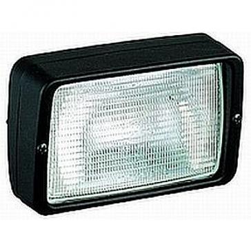 Hella PICADOR Worklamp, Flush Mount, Black Housing 12V