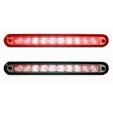 Hella 9071 Series Center High-Mounted Stop Lamp, 12 Red LEDs