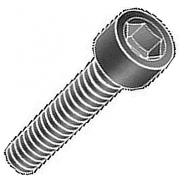 HWSHCSM4x12B Black Socket Head Cap Screw for Rally 4000 Lamps
