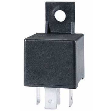 Hella HL87499 Mini Relay 12V 20 40A SPDT with Bracket