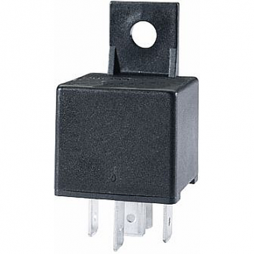 Hella HL33208 Mini Relay, 24V, 10/20A, SPDT with Diode and Bracket