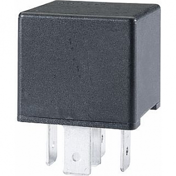 Hella HL87483 Mini Relay, 12V, 40A, SPST, Dual 87 Pin