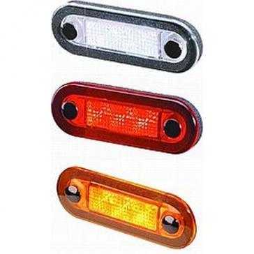 Hella 9510W Series Wide Rim LED Lamp