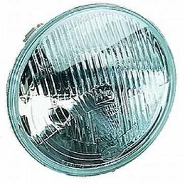 "Hella 7"" Round ECE Headlamp with city lamp. HL95146"