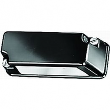 Hella 3168 Series License Plate Lamp Black