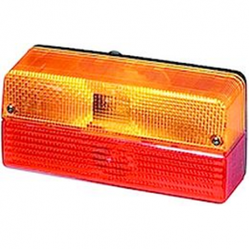 Hella 6356 Series Rear Combination Lamp, Stop, Tail, Turn, Reflex Reflector, ECE 12V