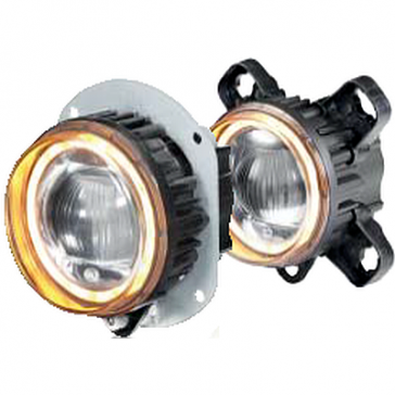 Hella 90mm L4060 LED High Beam / Driving Lamp  Module with amber turn Indicator