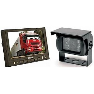 "A3014 Brigade Rear View Camera Kit, 7.0"" Monitor"