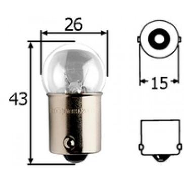 G812 G-8, BA15s 12v, Incandescent Bulb