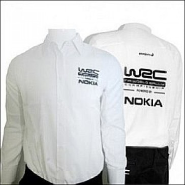 WCRE11097 Official WRC Women's REPLICA RANGE White Shirt