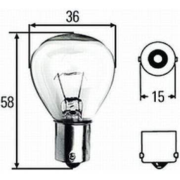 HL78191 Bulb BA15S 12V 45W S-11