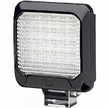 Hella Flat Beam 500 LED Flush Mount Work Lamp, 550 Lumens