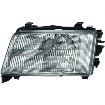Hella Headlamp Audi 100 90>94 w/o Fog Lamp, DOT/SAE